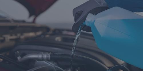 Troca do líquido do radiador